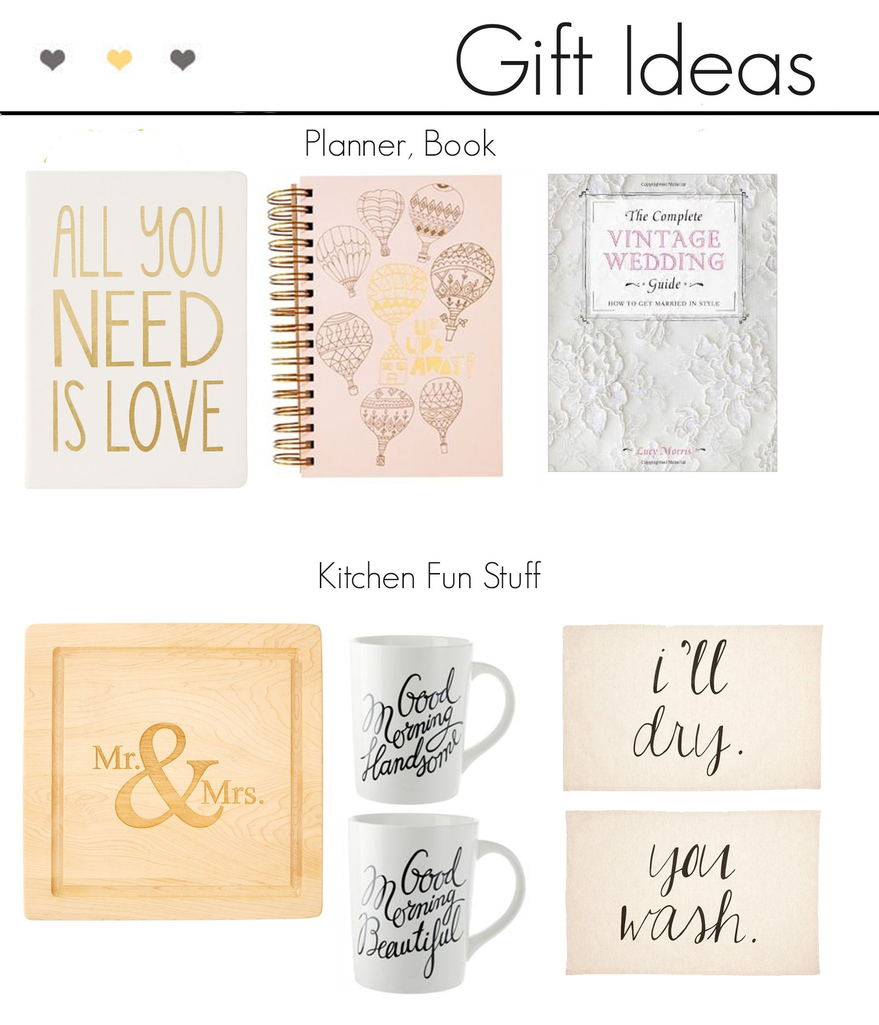 Gift Ideas: Engagement